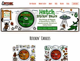 bitchinsauce.com screenshot