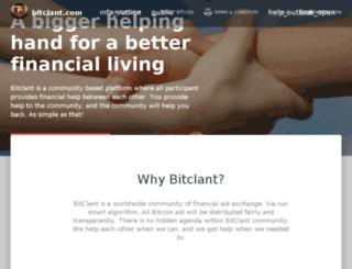 bitclant.com screenshot