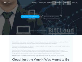 bitcloud.com.au screenshot