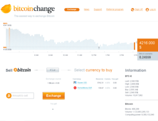 bitcoinchange.com screenshot