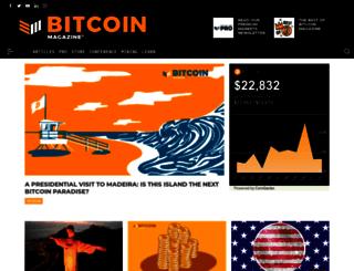 bitcoinmagazine.com screenshot