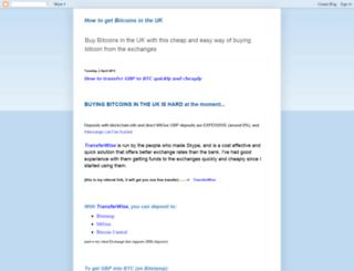 bitcointransfer.blogspot.co.uk screenshot