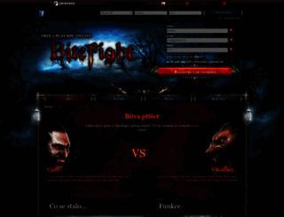 bitefight.cz screenshot