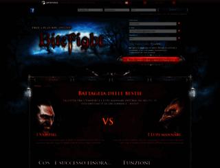 bitefight.it screenshot