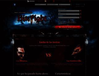 bitefight.pe screenshot