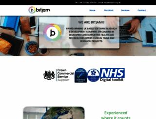 bitjam.org.uk screenshot