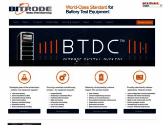 bitrode.com screenshot