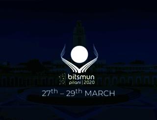 bitsmun.org screenshot