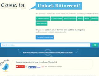 bitsnoop.come.in screenshot
