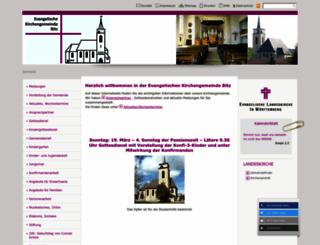 bitz-evangelisch.de screenshot