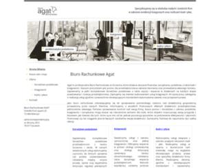 biuroagat.pl screenshot