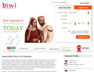 biwi.pk screenshot