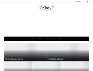 biyografi.net.tr screenshot