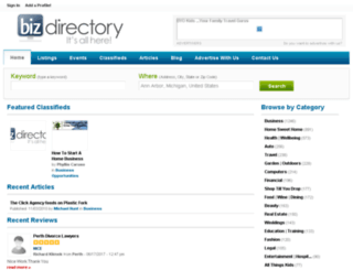 biz-directory.com.au screenshot