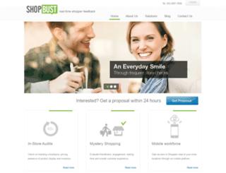 biz.shopbust.com screenshot