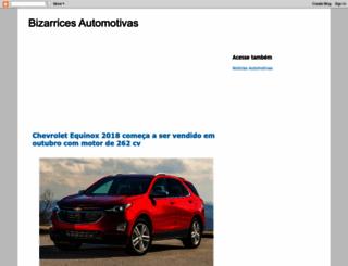 bizarricesautomotivas.blogspot.com screenshot
