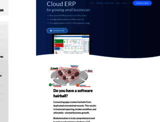 bizautomation.com screenshot