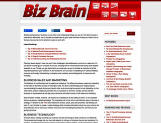 bizbrain.org screenshot