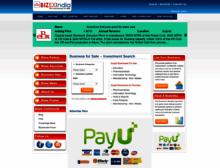 bizexindia.com screenshot
