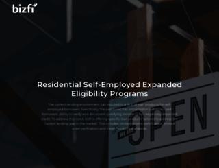 bizfi.com screenshot