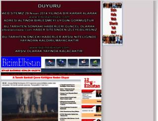 bizimelbistan.com screenshot