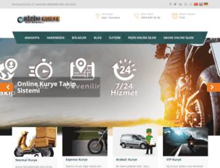 bizimkurye.com.tr screenshot