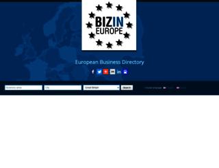 bizin.eu screenshot