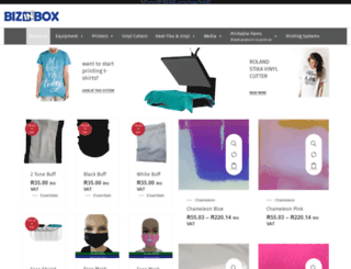bizinbox.co.za screenshot