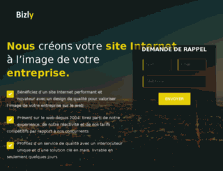bizly.fr screenshot