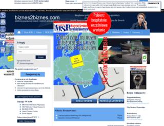 biznes2biznes.com screenshot