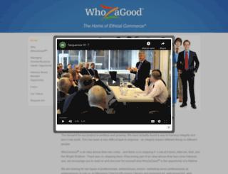 bizopp.whozagood.com screenshot