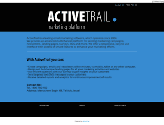 bizportal.activetrail.biz screenshot