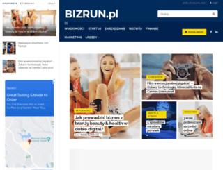 bizrun.pl screenshot