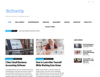 bizstartup.ie screenshot
