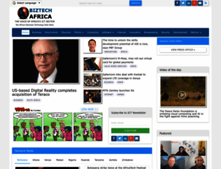 biztechafrica.com screenshot