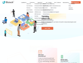 biztechconsultancy.com screenshot