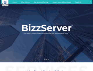 bizzserver.net screenshot