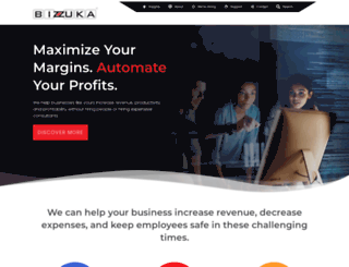bizzuka.com screenshot