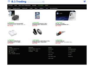 bj-trading.dk screenshot