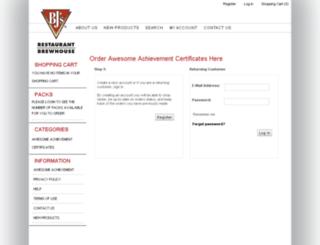bjsrestaurants.orderingstore.com screenshot