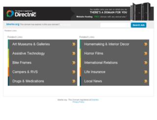 bkerke.org screenshot