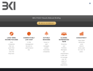bkilimited.com.au screenshot