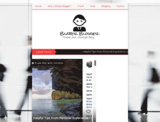 blaberblogger.com screenshot