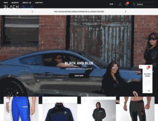 blackandblue.com.au screenshot