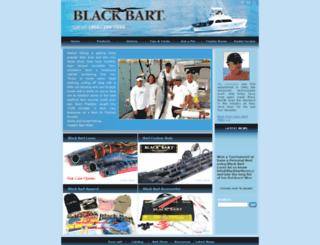 blackbartlures.com screenshot