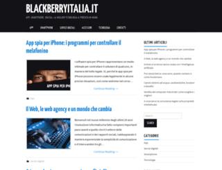 blackberryitalia.it screenshot