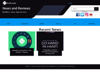 blackberrysites.com screenshot