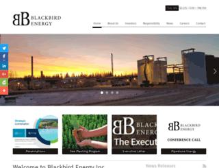 blackbirdenergyinc.com screenshot