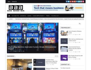 blackblessedblog.com screenshot