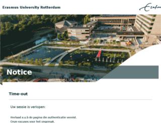 blackboard.eur.nl screenshot